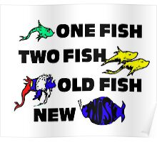One Fish, Two Fish, Old Fish, New Phish Poster