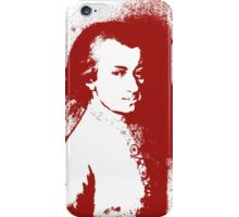 Music for my eyes - Splashed Red iPhone Case/Skin