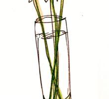 Daisies in a Vase Sticker