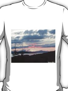 Last rays over Tingle Creek T-Shirt