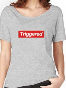 Triggered supreme Women's Relaxed Fit T-Shirt