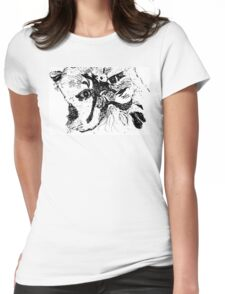 Funky Persian  Womens Fitted T-Shirt