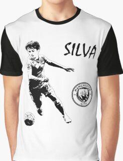 David Silva - Manchester City Graphic T-Shirt