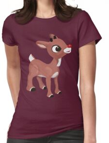 Classic Rudolph Womens Fitted T-Shirt
