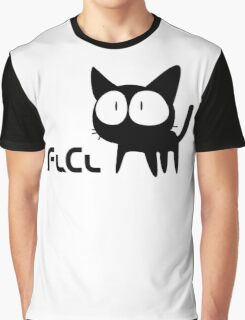Flcl white Graphic T-Shirt