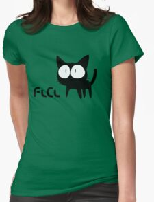 Flcl white Womens Fitted T-Shirt