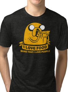 Food I love the Most Tri-blend T-Shirt