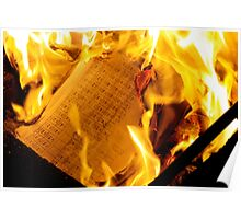 Burning Chemistry Poster