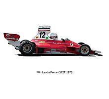 Ferrari 312 Nikki Lauda Photographic Print