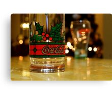 Coca-Cola Christmas Canvas Print