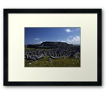 Dun  Aengus Fort, Inishmore, Aran Islands   Framed Print