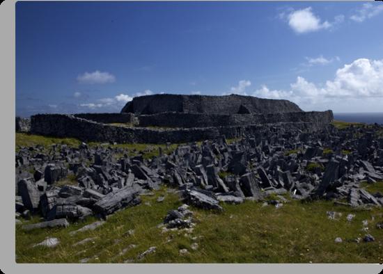 Dun  Aengus Fort, Inishmore, Aran Islands   by George Row
