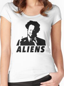 I'm Not Saying It's Aliens....But Aliens Women's Fitted Scoop T-Shirt