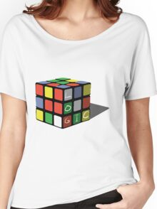 The Cube Women's Relaxed Fit T-Shirt