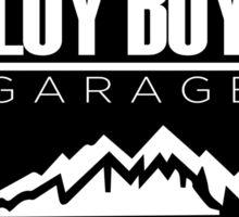 Loy Boy Garage Sticker