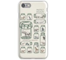 Protect Wildlife - Endangered Species Preservation  iPhone Case/Skin
