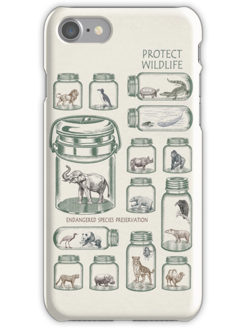 Protect Wildlife - Endangered Species Preservation  by Paula Belle Flores