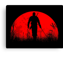 Geralt Of Rivia Canvas Print