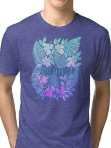 Killin' It – Turquoise + Lavender Ombré Tri-blend T-Shirt