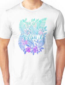 Killin' It – Turquoise + Lavender Ombré Unisex T-Shirt