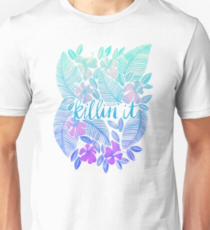 Killin' It – Turquoise + Lavender Ombré Unisex T-Shirt