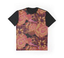 Autumnal Florals Graphic T-Shirt
