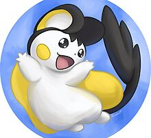 Emolga by TheCutestLunLun