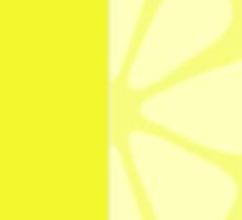 Sliced Lemon Sticker