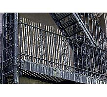 Urban Iron Photographic Print