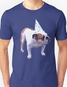 Bulldog Birthday Unisex T-Shirt