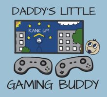Daddy's Little Gaming Buddy - Gamer Dad Kids Tee