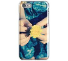 A Gift in Summer iPhone Case/Skin