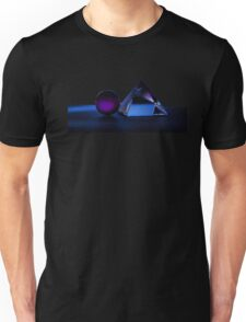 A Purple Sphere With A Glass Pyramid Unisex T-Shirt
