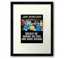 join starfleet Framed Print