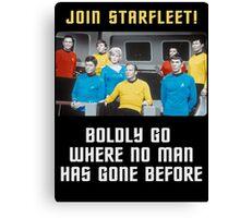 join starfleet Canvas Print