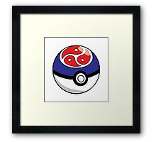 Kinky Ball! GO! Ver. 2 Framed Print