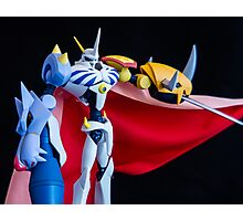 Omegamon Photographic Print
