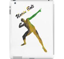 Usain Bolt Cool Jamaican Design iPad Case/Skin
