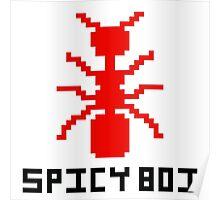 Spicy Boi Pixel Art Poster