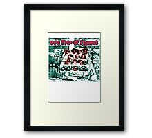 Vivid Tribe Of Psychics Framed Print