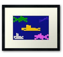 SEAQUEST - ATARI 2600 Framed Print