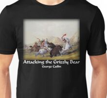 Catlin - Attacking the Grizzly Bear Unisex T-Shirt