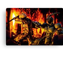 Flash of the Blade Canvas Print