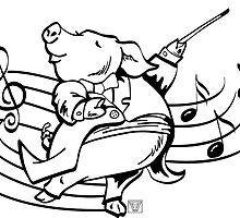 Pig Maestro by ImagineThatNYC