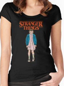 Stranger Things Eleven Women's Fitted Scoop T-Shirt
