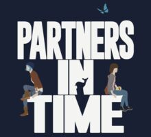 """Partners in Time"" - Life is Strange Kids Tee"