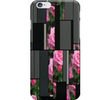 Pink Roses in Anzures 1 Art Rectangles 7 iPhone Case/Skin