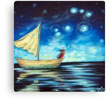 Sprinkling Stars - Matariki Canvas Print