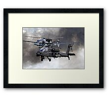AgustaWestland Apache AH1 & AW159 Wildcat HMA2 Helicopters Framed Print