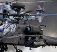 AgustaWestland Apache AH1 & Wildcat HMA2 Helicopters Sticker